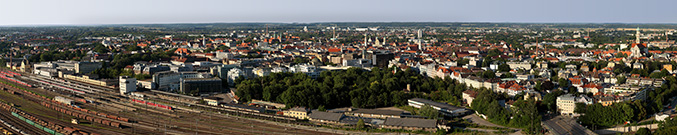 Augsburg - view from the hotel tower - 8 gigapixels