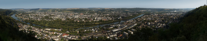 Trier from St. Mary Column